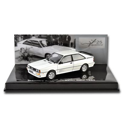 Resim Audi quattro Geneva Show Model 1980 Model Araç
