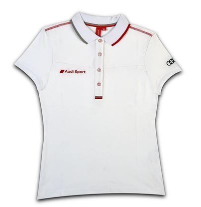 Resim Audi Sport Polo Yaka Bayan T-Shirt