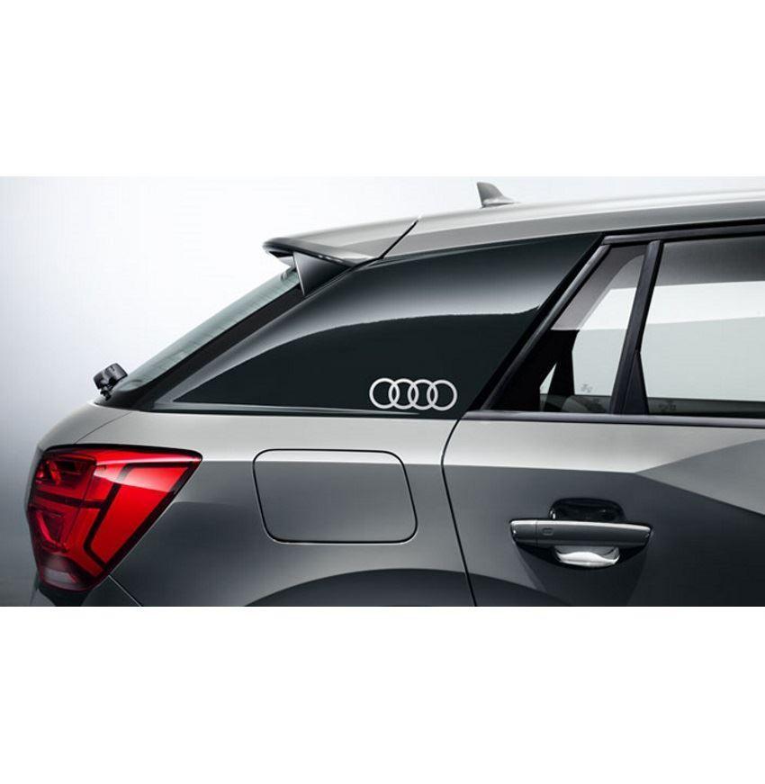 Resim C direği Audi logo dekoratif folyosu
