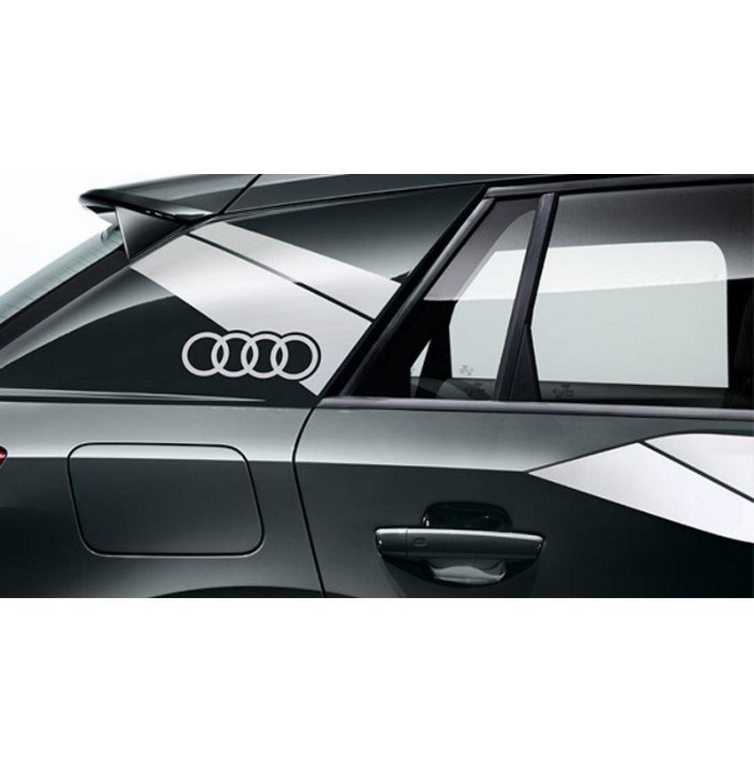 Resim Audi Logo Folyosu (C direği ve kapı üzerinde)