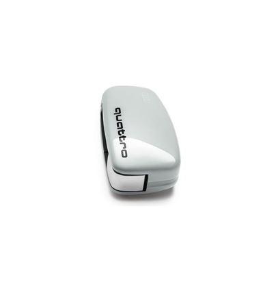 Resim Quattro logolu anahtar kaplaması (Cortina beyazı)