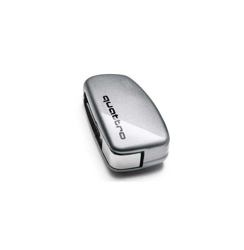 Resim Quattro logolu anahtar kaplaması (Floret gümüşü)