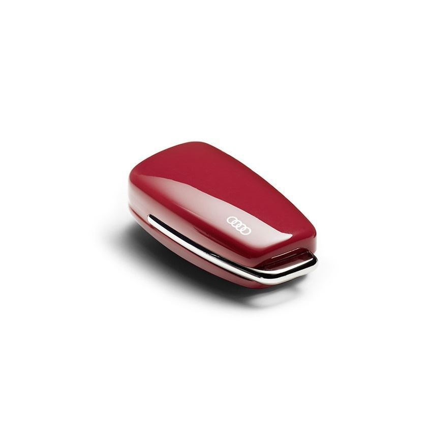 Resim Audi logolu anahtar kaplaması (Misano kırmızısı)