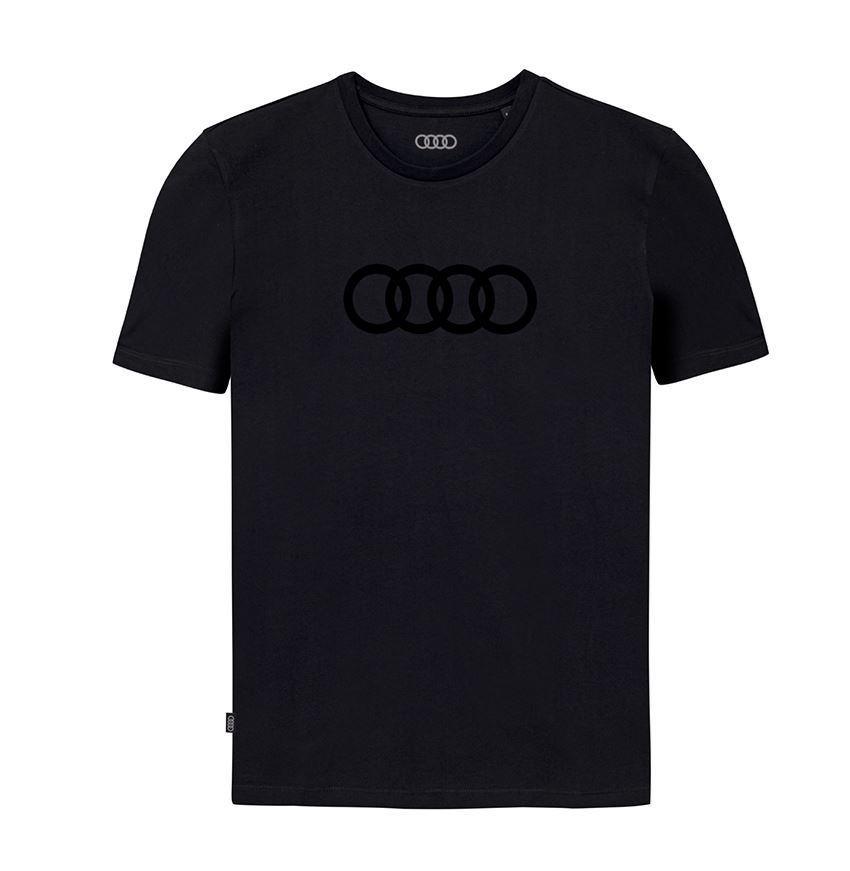 Resim Audi T-Shirt Rings, Erkek, Siyah