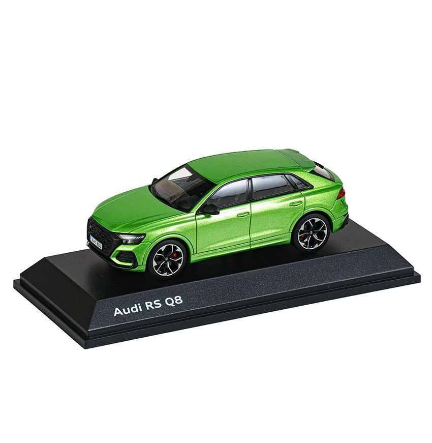 Resim Audi RS Q8, Model Araç, Java Yeşil, 1:43