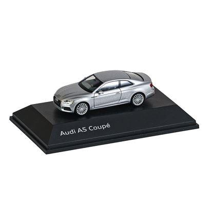 Resim Audi A5 Coupé, Model Araç, Floret Gümüş, 1:87