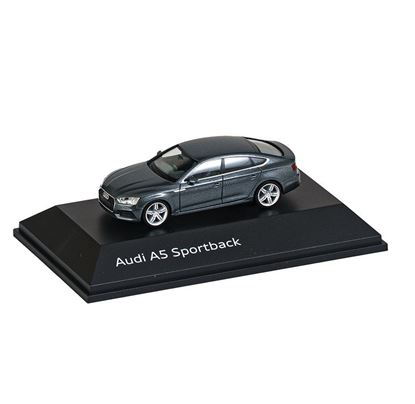 Resim Audi A5 Sportback, Model Araç, Monsoon Gri, 1:87