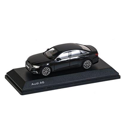 Resim Audi A6, Model Araç, Myth Siyah, 1:43